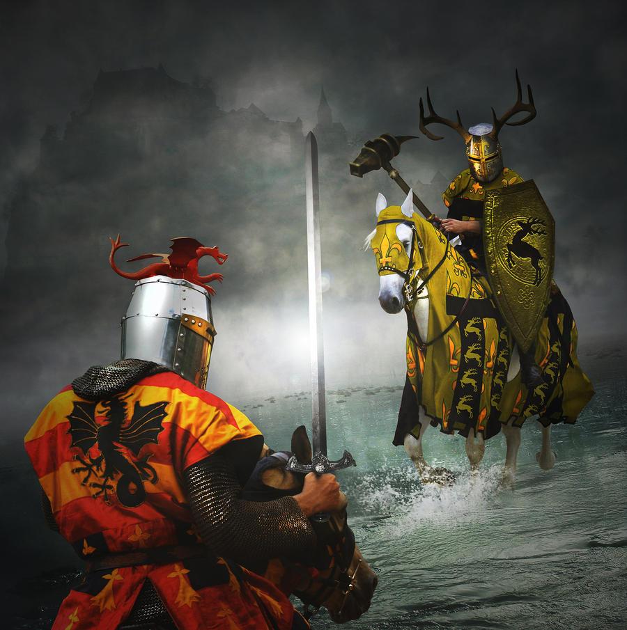 robert baratheon vs rhaegar targaryen wallpaper
