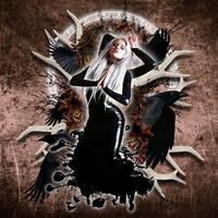 Mora - the nightmare demon by AnaKarniolska