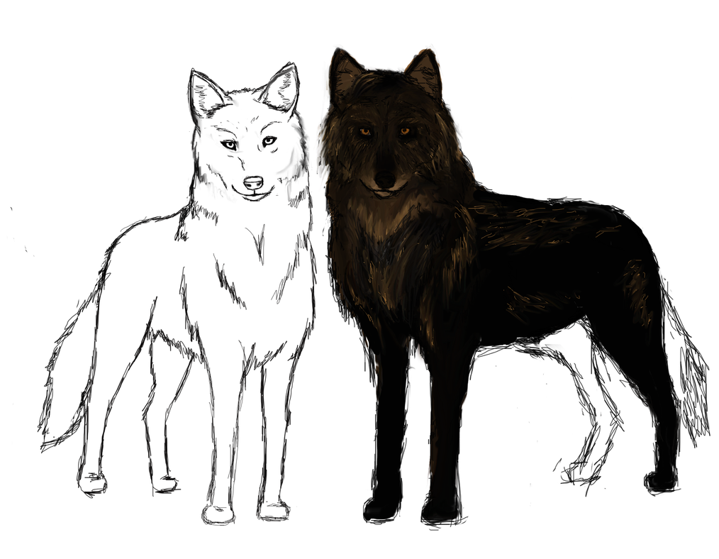 The Pack WIP by amaryllis-bloom