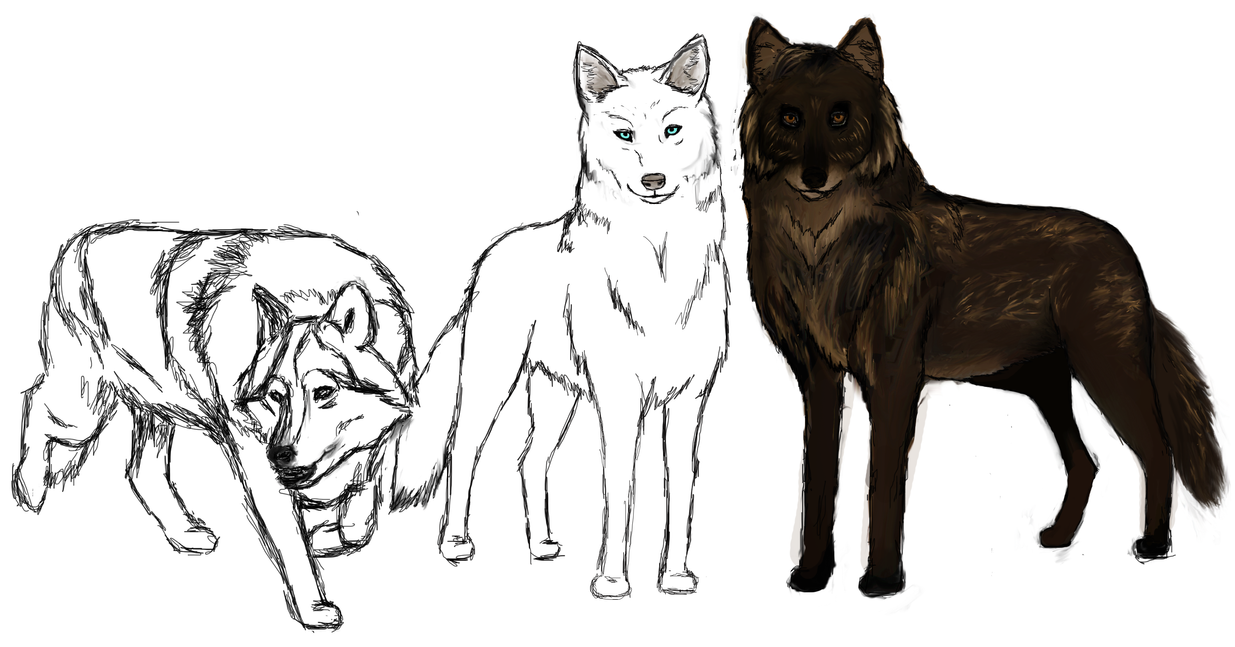 The Pack WIP 2 by amaryllis-bloom