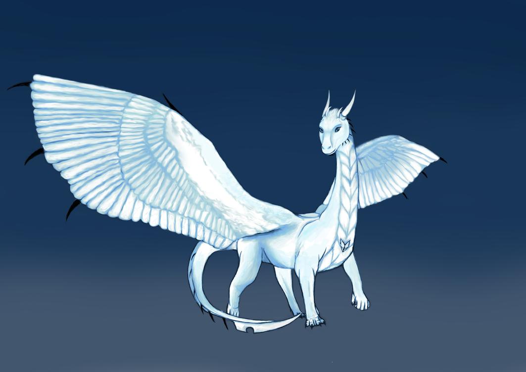 Dragon Design WIP 4 by amaryllis-bloom