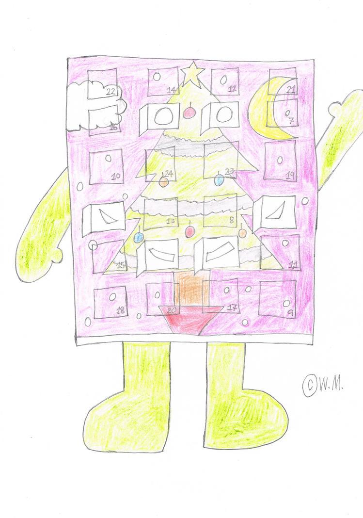 Advent Calendar Man by wilmel