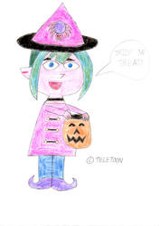 Little Witch Gwen by wilmel