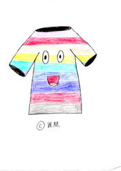 Rainbow T-shirt by wilmel