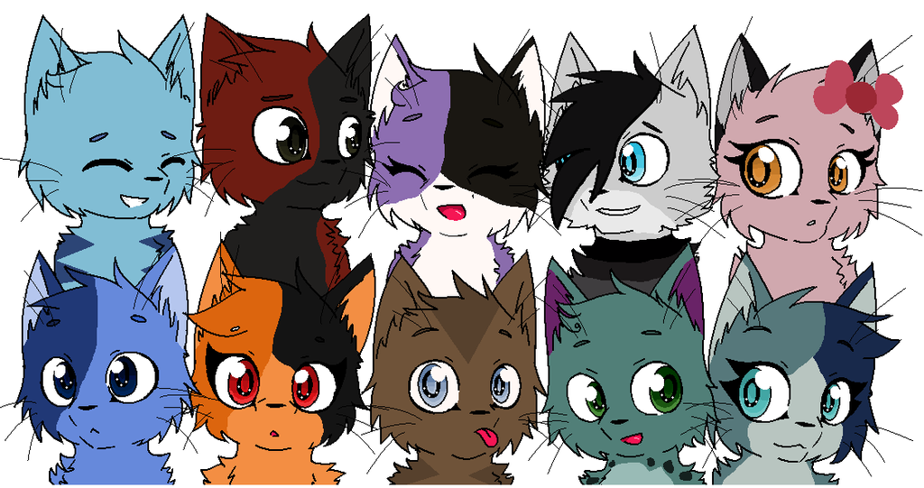 Minecraft Cat Animal Group