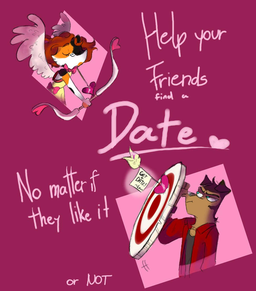 Valentine Day Card For Friends V2 By Mimitori145 On Deviantart
