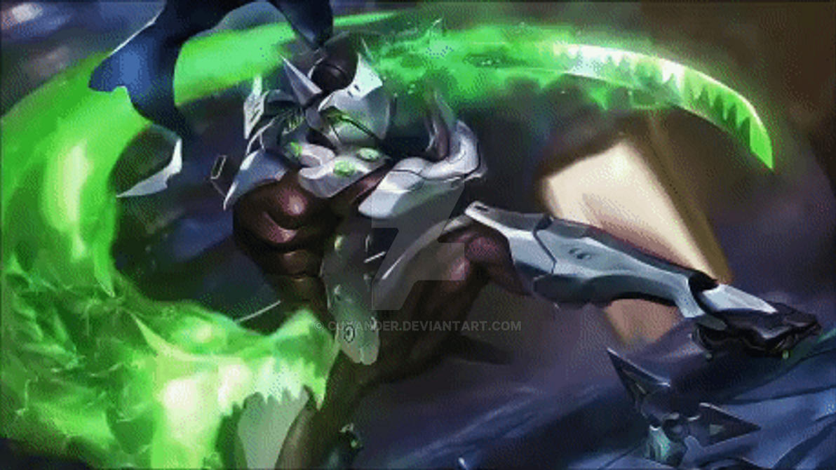 Genji Animated Wallpaper Overwatch By Cjxander On Deviantart