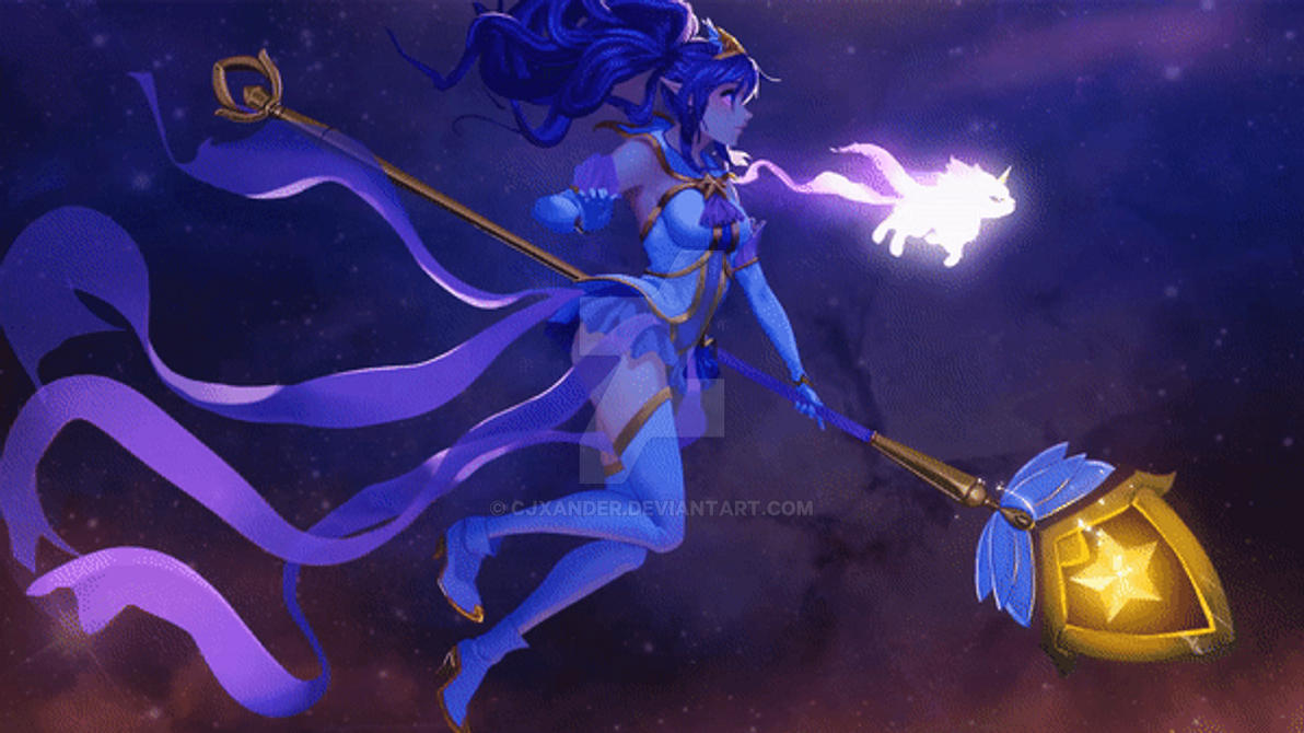 Star Guardian Janna - Animated Wallpaper by CJXander on ...
