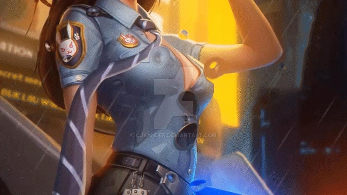 D Va Overwatch Animated Wallpaper By Cjxander On Deviantart
