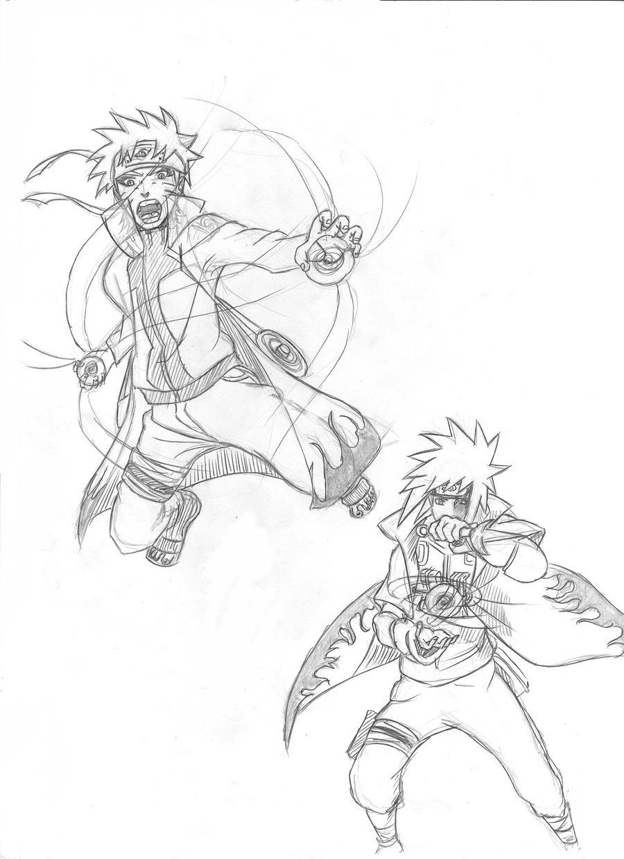 Naruto Minato by blackList90 on