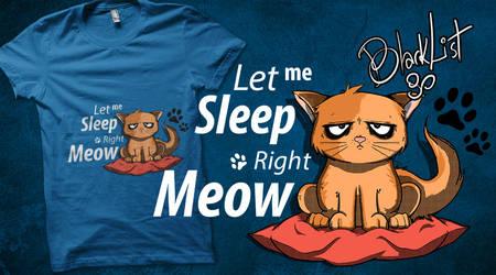 Cat say GoodNight by blackList90