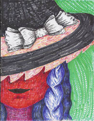 Wicked Marisa Kirisame by NowThisIsRealArt