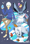 Rise of the guardians :Jack frost and Bunny