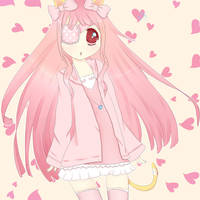 Art Trade: Kitty by Lulli-chan