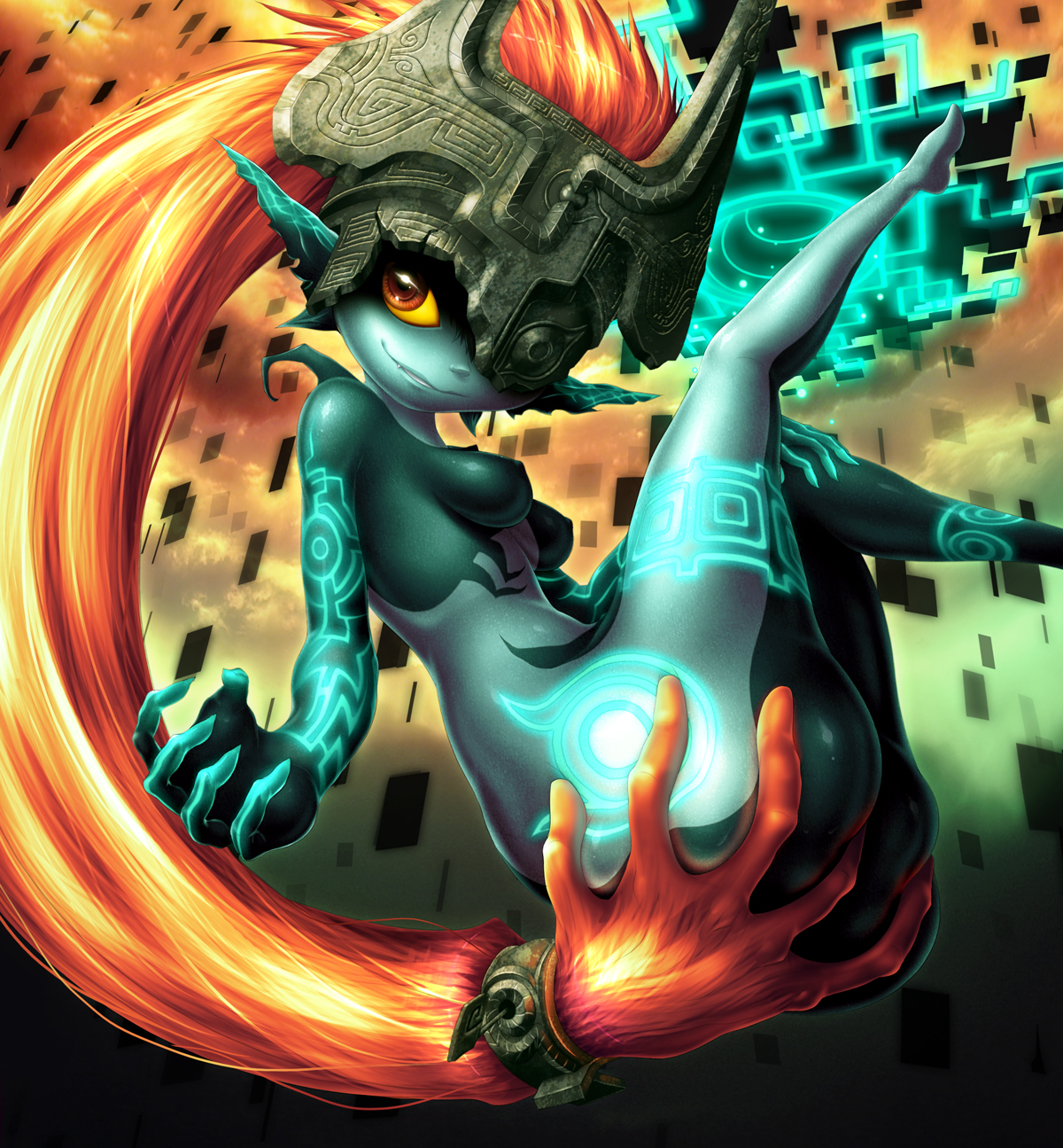 Handful of Midna by Yuqoi