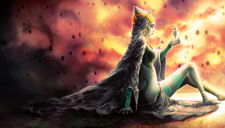 Midna's Yearning by Yuqoi on DeviantArt