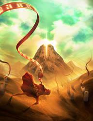 Through the Sandstorm by Yuqoi