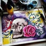 Skully rose