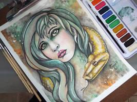 Snake Lady by GraceCRH