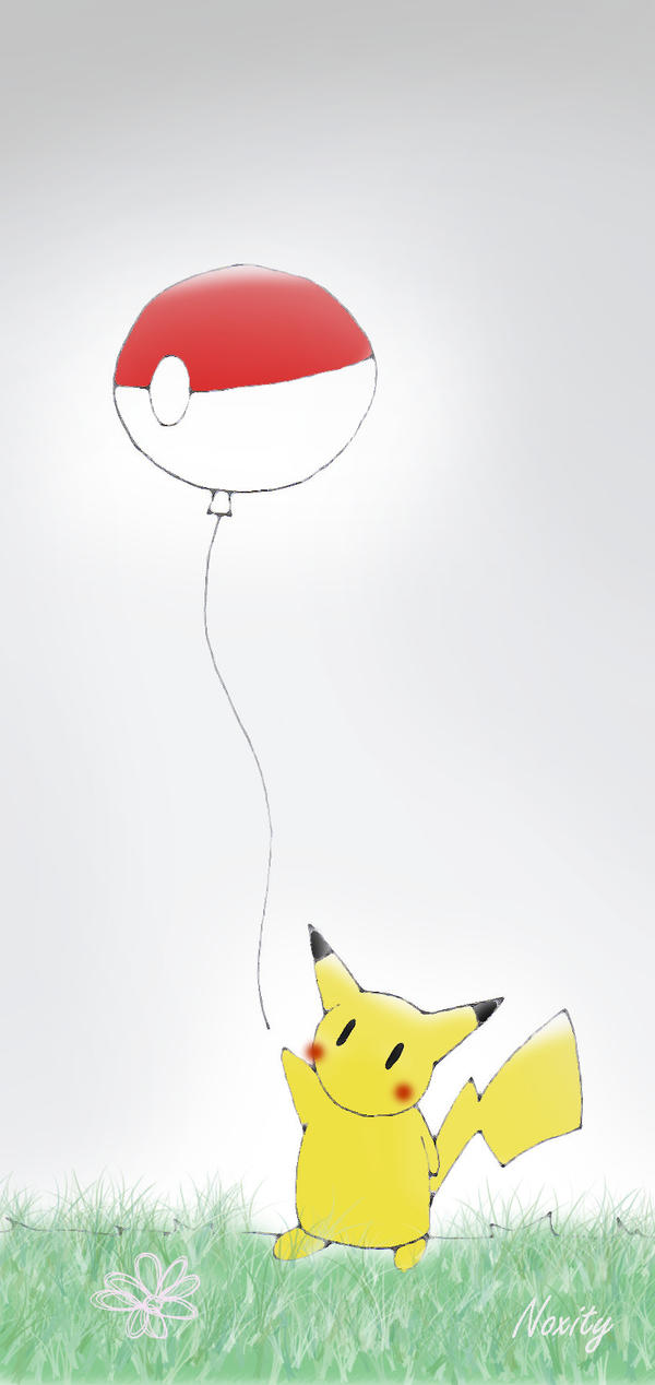 Pika Balloon by Lucora