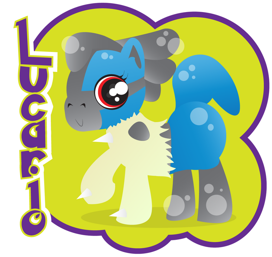 my little lucario by Lucora