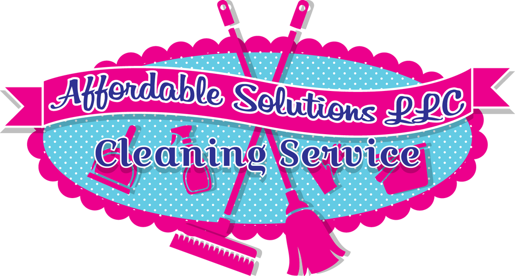 Affordable Cleaning Solutions Logo by Lucora