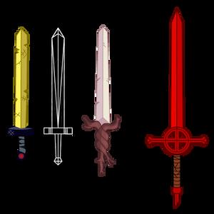 Finn's Swords - Adventure Time