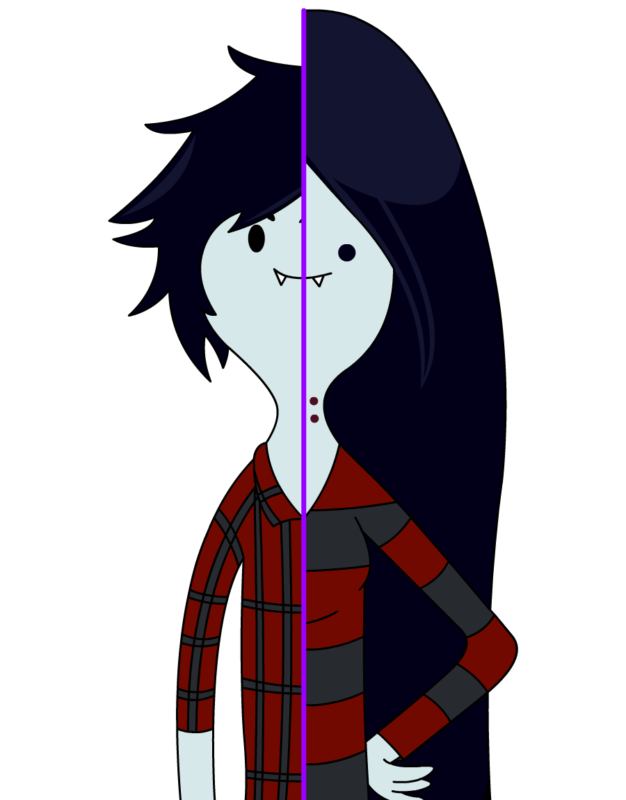 Character Design Adventure Time : Marshall lee vs marceline adventure time by