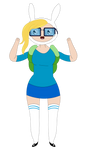 Fionna (Glasses of Nerdicon) - Adventure Time