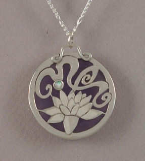 Spirit of the Lotus by KellyMorgenJewelry