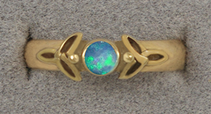 Celtic Trinity Ring by KellyMorgenJewelry
