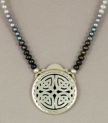 Isolde, Celtic Princess - Back by KellyMorgenJewelry