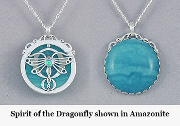Spirit of the Dragonfly by KellyMorgenJewelry