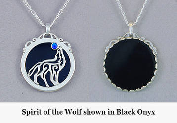 Spirit of the Wolf by KellyMorgenJewelry