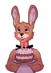 Happy B'day by Red-Wolffie