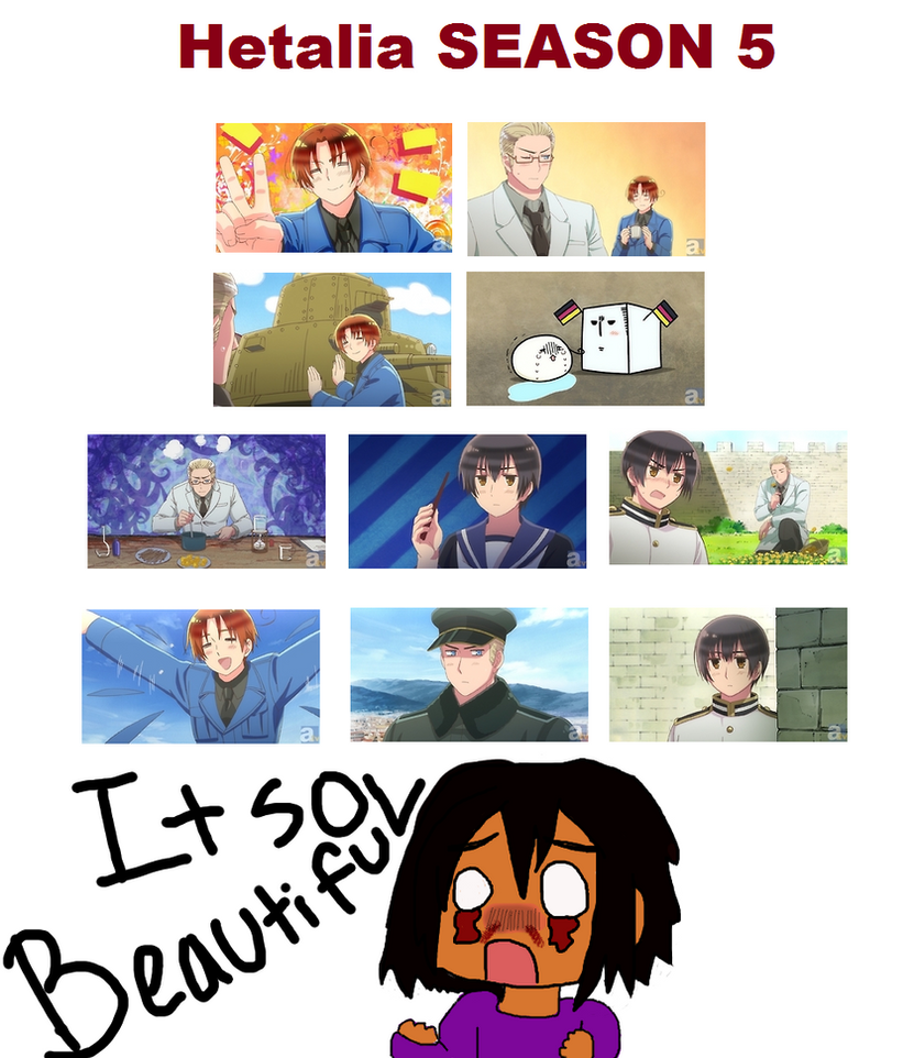 Anime Characters React Fanfiction : My reaction to hetalia season screen shots by