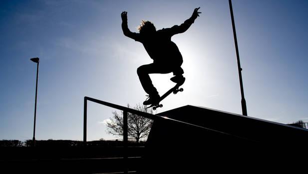skateboarding n shit