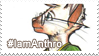 IamAnthro Stamp by shikokumaji