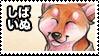 Shiba Inu Stamp by shikokumaji