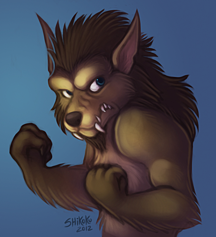 Angry Worgen by bawky