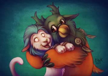 Boomkin Hugs are the BEST Hugs! ft. KageSatsuki