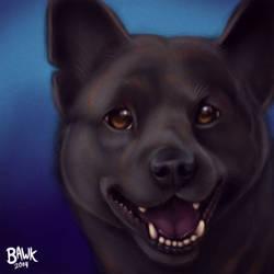 Matsu Pet Portrait Commission