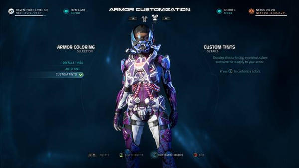 Raven Biotic Armor by PhoenixKid88