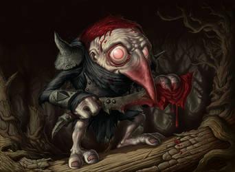 Murderous Redcap by DaveAllsop