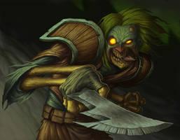 Eyeball Jones - Warcraft by DaveAllsop
