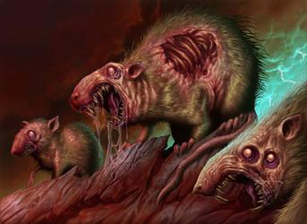 Rotting Rats by DaveAllsop