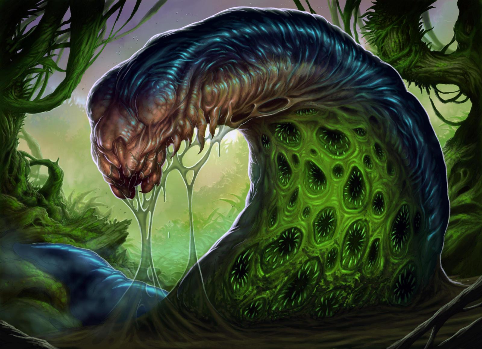 Putrid Leech by DaveAllsop