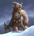 Woolly Beast Man