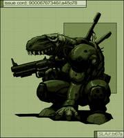 SLA Industries - Gator Stormer by DaveAllsop