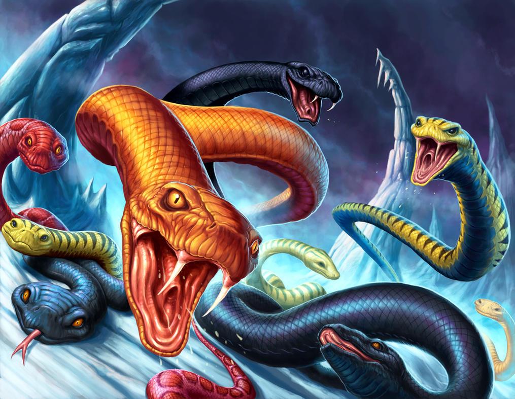 Apophis : dieu du Chaos Serpent__s_nest_by_daveallsop-d3cqc35